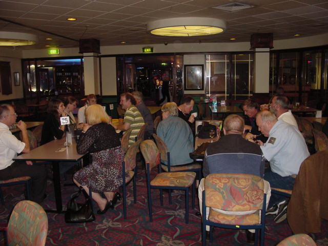 Coorparoo RSL pre-drinks, 207 Jerry Williams lecture